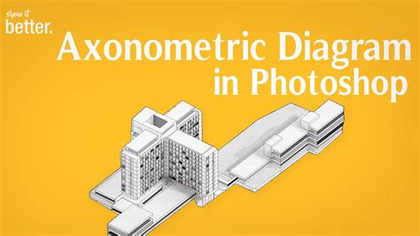Easy Axonometric Diagram Tutorial with Sketchup and