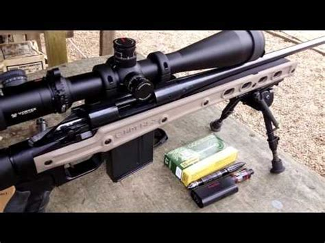 Remington 700ADL dropped into MDT HS3 Chassis