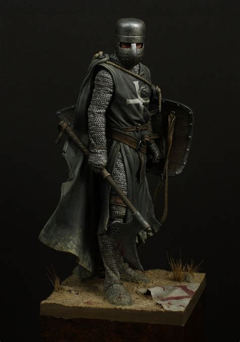 """Knight Hospitaller, XIII century by Oliver """"HonourGuard"""